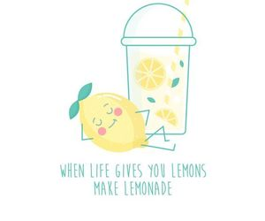 lemon and quotes image