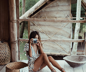 fashion, model, and brunette image