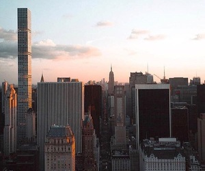 goals, nyc, and sunset image