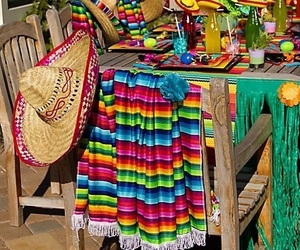 decoracion, party, and viva mexico image
