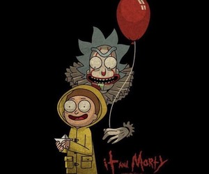 it and rick and morty image