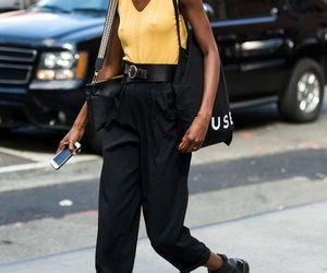 chic, fashion, and nyfw image