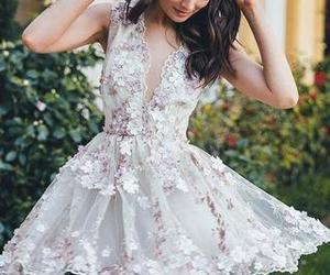 homecoming dress, white homecoming dresses, and a-line homecoming dress image