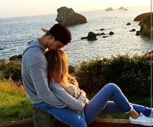 love, couple, and goals image