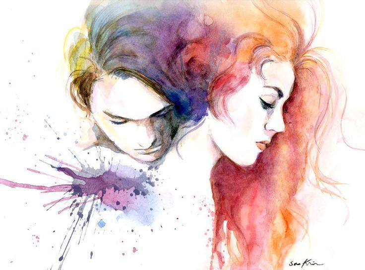 art, couple, and titanic image