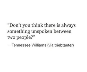 quote, unspoken, and people image