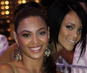beyonce knowles, rihanna, and queen bey image