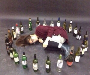 aesthetic, alcohol, and dark image