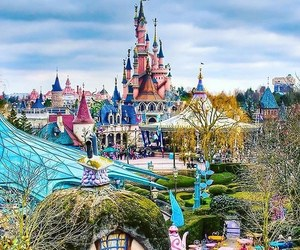 disney, disneyland, and paris image
