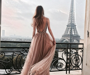 paris, dress, and fashion image