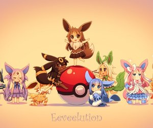 pokemon, glaceon, and sylveon image