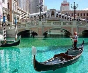 Las Vegas, venice, and boat image