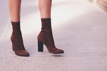 heels, style, and boots image
