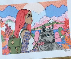 art, leopard, and rik lee image