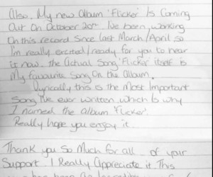 handwriting, Letter, and niall horan image