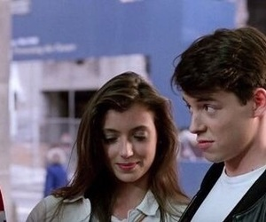 ferris buellers day off, mia sara, and sloane peterson image
