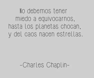 frases, charles chaplin, and stars image