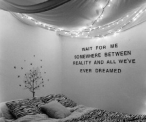 bedroom, quotes, and indie image