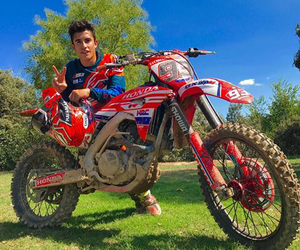 dirt, motorcross, and red image