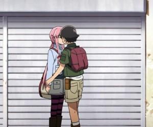 anime, mirai nikki, and yuno gasai image