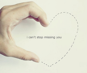 heart, missing you, and cute image