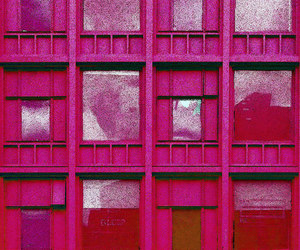 building, facade, and pink image