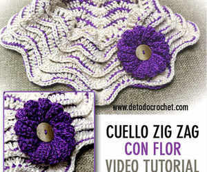 crochet, scarf, and tutorial image
