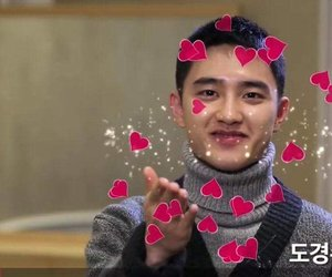 exo, kyungsoo, and in love image