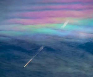 rainbow, blue, and colors image