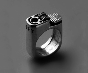 ring, lighter, and fire image