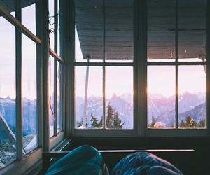 autumn, trees, and bedroom image