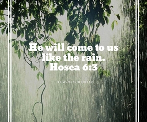 rain quotes, bible verse, and bible quote image