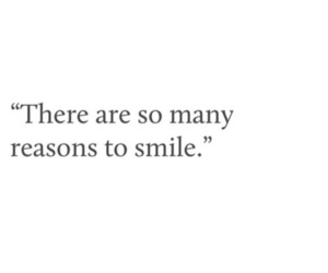 quote and smile image