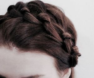 aesthetic, braid, and hair image