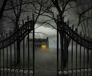 Halloween and haunted image