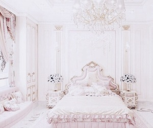 girly, dream bedroom, and pastelle image