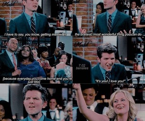 parks and recreation, parks and rec, and leslie knope image