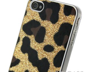 gold glitter, gold iphone 4 case, and glitter iphone 4 case image