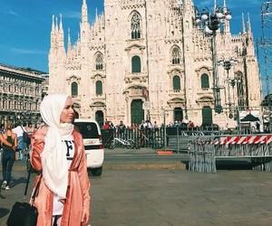 adventure, fashion, and hijab image