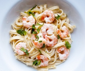 delicious, fettuccine, and food image