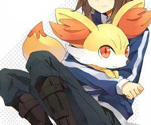 pokemon, fennekin, and calme (pokémon) image