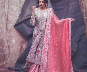 fashion, indian, and model image