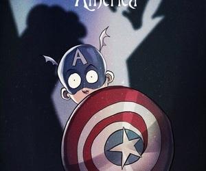 america, Marvel, and art image