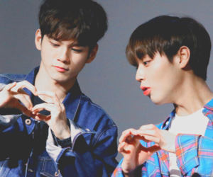 jihoon, seong wu, and ong seong wu image