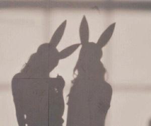 girl, bunny, and aesthetic image