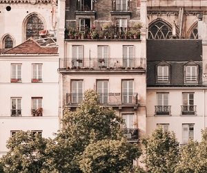 paris, architecture, and house image