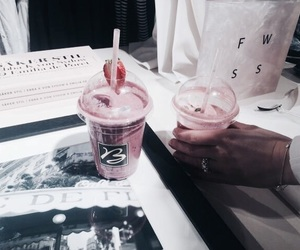 theme, drink, and pink image