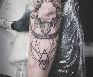 mandala, tattooist, and Tattoos image