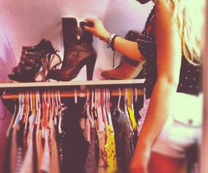 beauty, closet, and clothes image