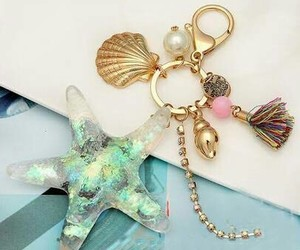 accessories, mermaid, and shell image